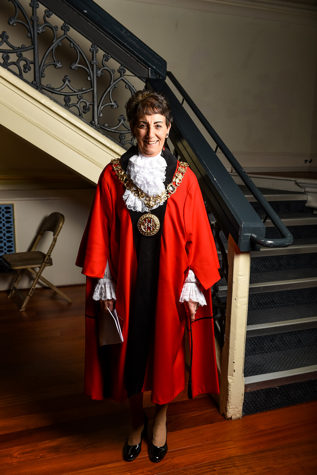 Mayor Awards - Winchester Guildhall - 2/2/16
