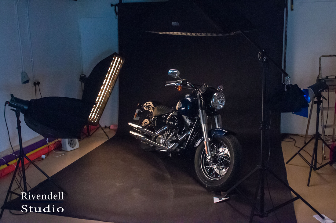 Harley Davidson Studio Shoot